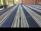 Antislip Vlonderstrook (ZWART) 50 x 1000 mm (fijne korrel)