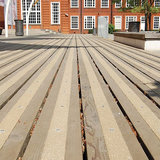 Antislip Vlonderstrook (BRUIN) 50 x 1000 mm (fijne korrel)_