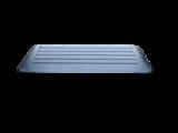 Rubberen drempelhulp 40mm x 310mm x 900mm met schuine zijvlakken (4 cm)