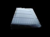 Rubberen drempelhulp 70mm x 560mm x 900mm met schuine zijvlakken (7 cm)