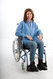 dames vest rolstoel