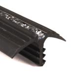 Rubber vlonderplank anti-slip profiel type 1 (sparing 6mm)
