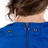 anti-scheurbody zonder mouw, korte pijp en rugritssluiting knoop 2