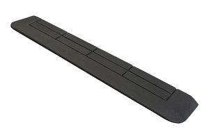 Rubberen drempelhulp 25mm x 150mm x 880mm met schuine zijvlakken (2,5 cm)