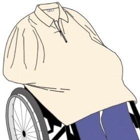Cape fleece met ritsje zonder mouw