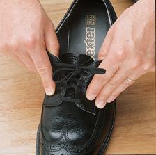 Elastische schoenveters wit, 61 cm