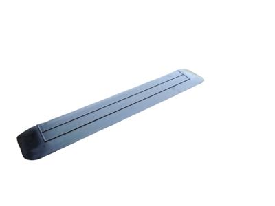 Rubberen drempelhulp 20mm x 150mm x 900mm met schuine zijvlakken (2 cm)