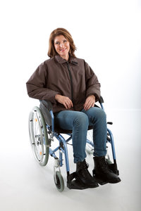Lina Outwear winterjas kort model (rolstoeljas)