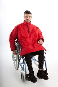 Anorak Outwear zomerjas lang model (rolstoeljas)