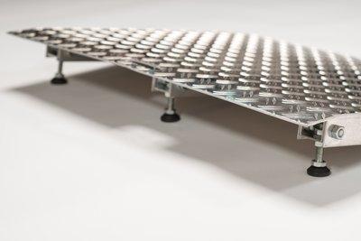 verstelpootjes aluminium verstelbare drempelhulp