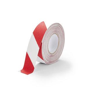 Antislip Tape Standaard (Rood/Wit) 50mm x 18,3 m (rol)