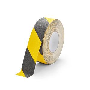 Antislip Tape Standaard (Zwart/Geel) 50mm x 18,3 m (rol)