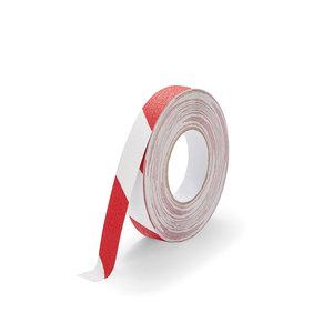 Antislip Tape Standaard (rood/wit) 25mm x 18,3 m (rol)