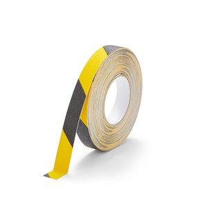 Antislip Tape Standaard (zwart/geel) 25mm x 18,3 m (rol)