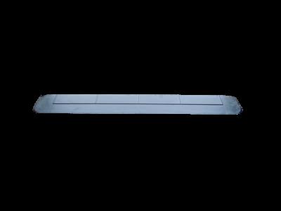 Rubberen drempelhulp 15mm x 120mm x 900mm met schuine zijvlakken (1,5 cm)