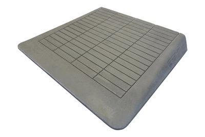 rubberen drempelhulp 105 mm of 10,5 cm hoog