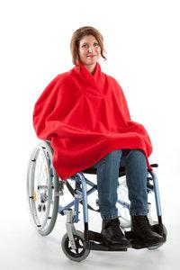 cape 7387 met shawl kraag zonder mouw