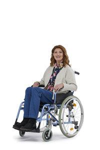 7261 dames sportieve vest rolstoelgebruiker