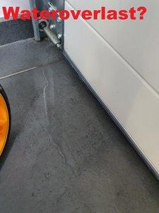 Oplossing wateroverlast bij garagedeuren