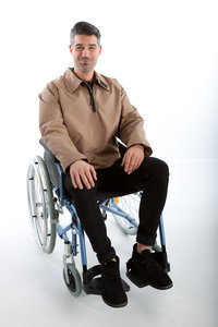 Anorak Outwear winterjas kort model (rolstoeljas)